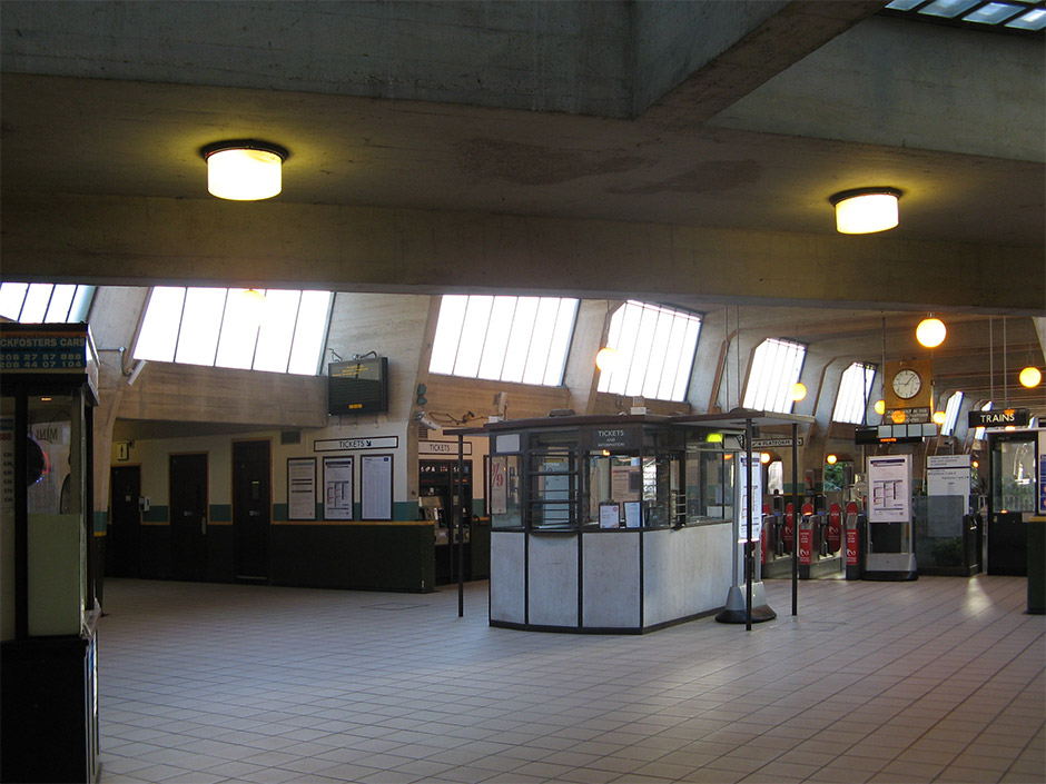 Cockfosters tube station