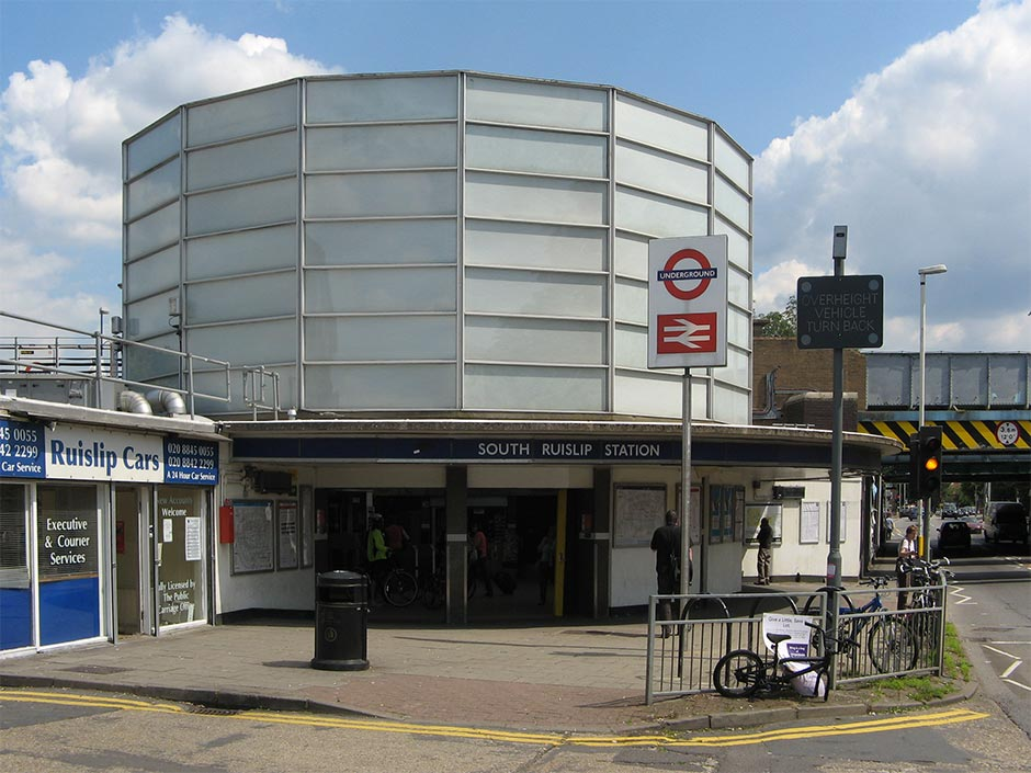 South Ruislip Tube Station Modern Architecture London